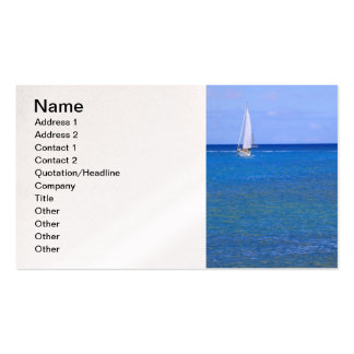 Sailing Hawaii Pack Of Standard Business Cards