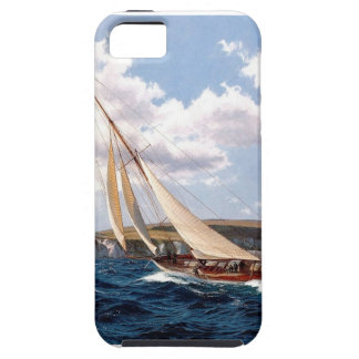 Sailing in a rough sea iPhone 5 case