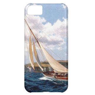 Sailing in a rough sea iPhone 5C case