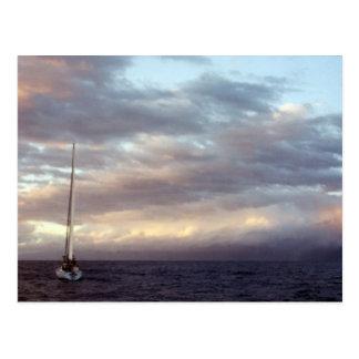 Sailing in Hawaii I Postcard