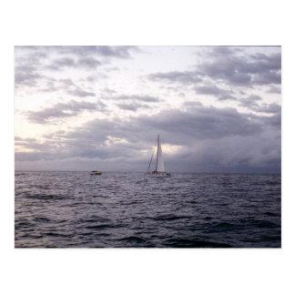 Sailing in Hawaii II Postcard