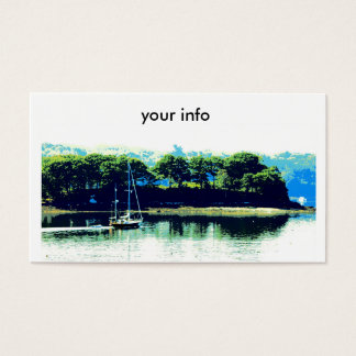 sailing in paradise business card