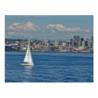 Sailing in Seattle Post Cards