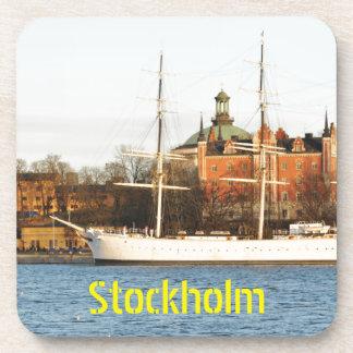 Sailing in Stockholm, Sweden Coaster