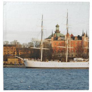 Sailing in Stockholm, Sweden Napkin