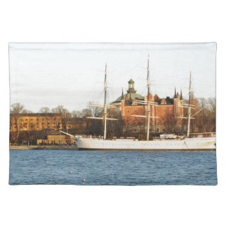 Sailing in Stockholm, Sweden Placemat