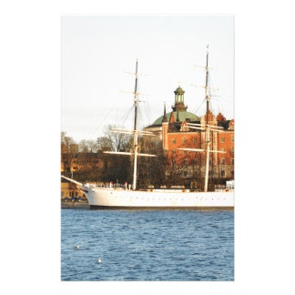 Sailing in Stockholm, Sweden Stationery