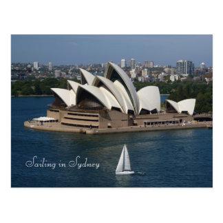 Sailing in Sydney Postcard