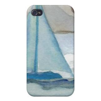 Sailing in the Big, Big Sea CricketDiane Ocean Art iPhone 4/4S Cover