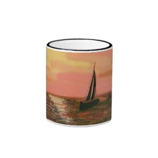 Sailing in the Orange Sky Mugs