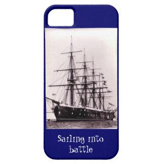 Sailing into battle, HMS Agincourt 1865 iPhone 5 Covers