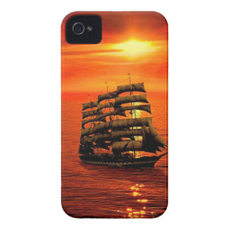Sailing Into the Sunset iPhone 4 Case