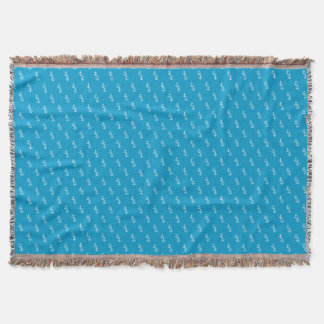 Sailing is living! throw blanket