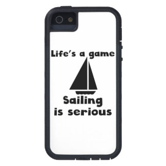Sailing Is Serious Cover For iPhone 5/5S