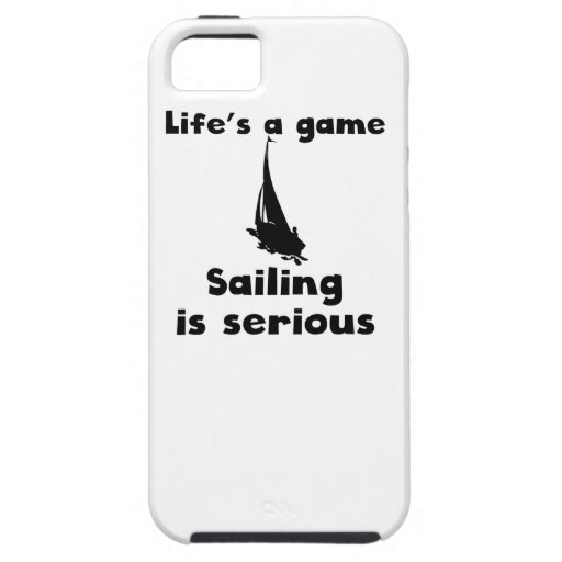 Sailing Is Serious iPhone 5 Cover