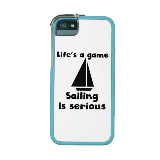 Sailing Is Serious iPhone 5/5S Covers