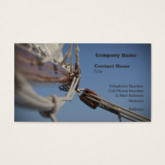 Sailing Jib Business Card