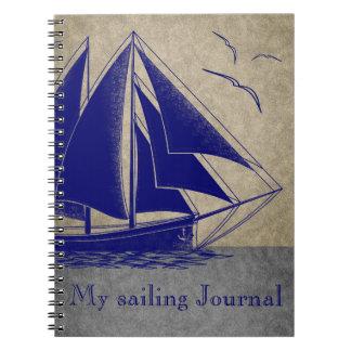 Sailing Journal nautical Note Books