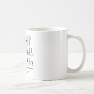 sailing knots coffee mug