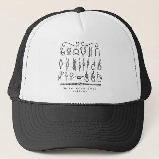 sailing knots trucker hat