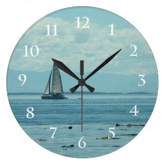 Sailing Large Clock