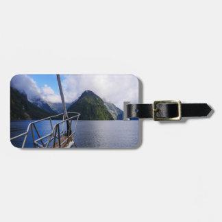 Sailing Milford Sound, New Zealand Luggage Tag