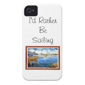 Sailing - Monterey Bay iPhone 4 Cover