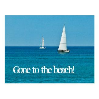Sailing . . . New Address Postcard