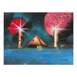 Sailing New Horizons Poster