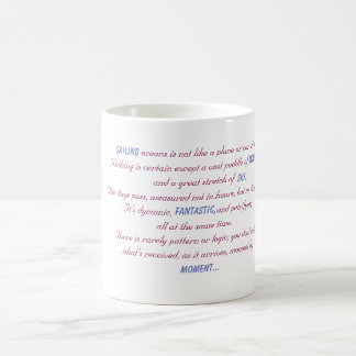 Sailing Oceans Poem Coffee Mug