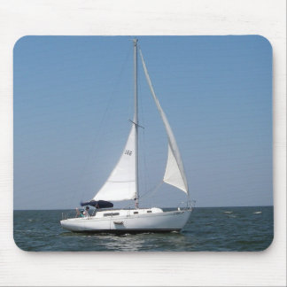Sailing on Lake Pontchartrain Mousepad