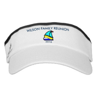 Sailing or Cruise Reunion (or Event) Visor