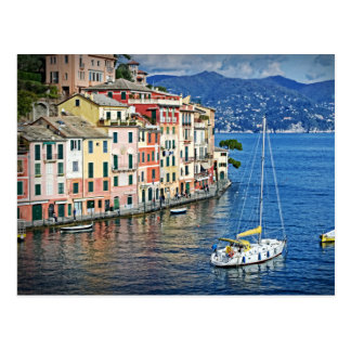 Sailing Portofino and the Italian Riviera Postcard