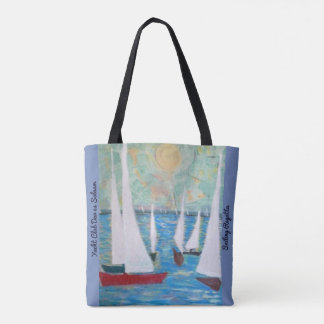 Sailing Regatta, All-Over-Print-Tote Bag