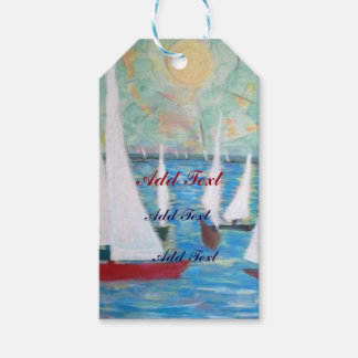 Sailing Regatta - Gift Tags