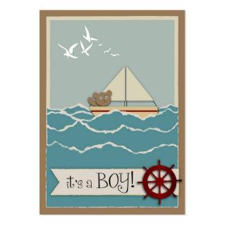 Sailing Reminder Notecard Business Cards
