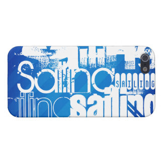 Sailing; Royal Blue Stripes Cases For iPhone 5