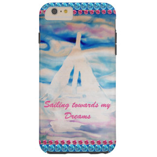 Sailing Sailboats Dreams Inspiration CricketDiane Tough iPhone 6 Plus Case