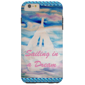 Sailing Sailboats Sail Dreamy Ocean CricketDiane Tough iPhone 6 Plus Case