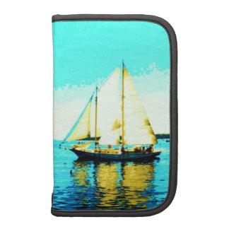 sailing schooner folio smartphone organizer