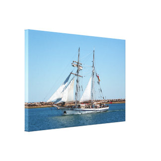 Sailing ship 1: One and All Canvas Print