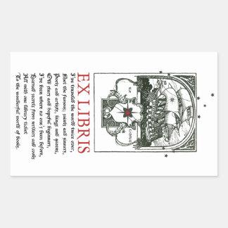Sailing Ship Adventure Bookplate Stickers