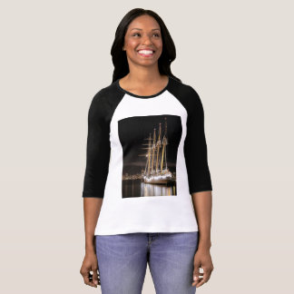 Sailing ship at  the pier T-Shirt