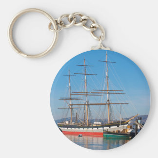Sailing Ship Keychain