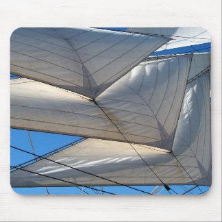 Sailing Ship Sails Mousepad