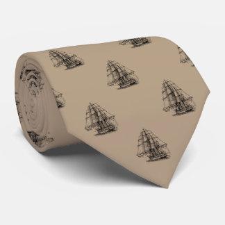 Sailing Ship Tie
