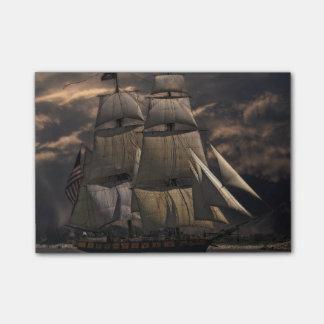 Sailing Ship Vessel Post-it Notes