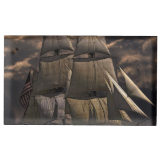 Sailing Ship Vessel Table Number Holder