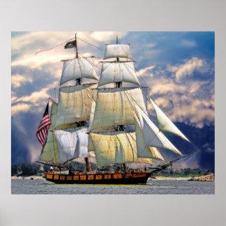 Sailing Ships 1A Poster