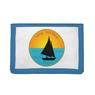 Sailing Soul Rising Tri-fold Wallets